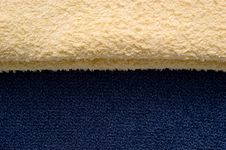 Free Light Yellow And Blue Fabric Royalty Free Stock Image - 17301576