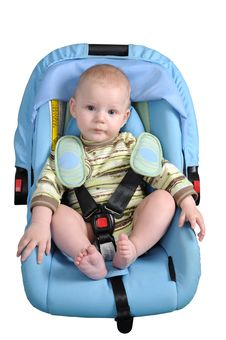 Free The Boy And A Seat Belt. Royalty Free Stock Photo - 17301705
