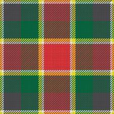 Scottish Tartan Texture Stock Image