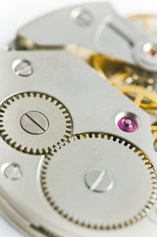 Free Clockworks With Gears Stock Image - 17302101