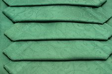 Free Green Tablecloth And Napkin Stock Images - 17302104