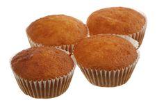 Free Four Fruitcakes Royalty Free Stock Photography - 17302167