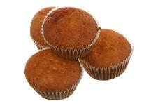 Free Four Fruitcakes Stock Photo - 17302200