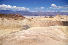 Free Death Valley Zabriskie Point Royalty Free Stock Photos - 17302308