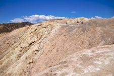 Death Valley Zabriskie Point Royalty Free Stock Photos
