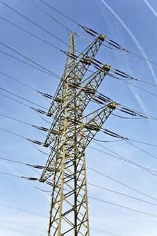 Free Electrical Tower With Sky Stock Photos - 17302393