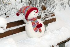 Free Snowman Stock Photography - 17302982