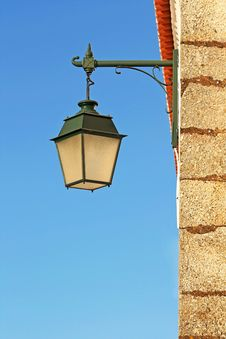 Ancient Street Lamp Royalty Free Stock Photography