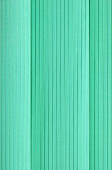 Green-cyan Vertical Blinds Royalty Free Stock Photos