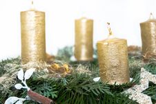 Free Advent Wreath Royalty Free Stock Photo - 17303655