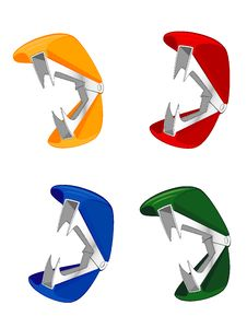 Set Of Staple Removers Royalty Free Stock Photos
