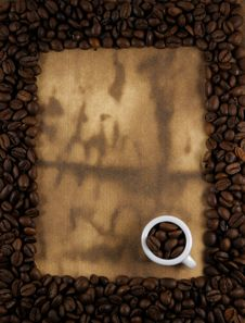 Free Coffee Frame Royalty Free Stock Images - 17304199
