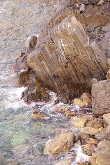 Free Cliffs At The Adriatic Sea Royalty Free Stock Images - 17304309