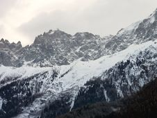Mountains In France Royalty Free Stock Photography