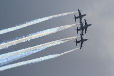 Free Aerobatic Jet Planes Stock Photos - 17304623