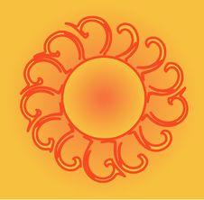 Free Orange Sun Stock Photos - 17304803