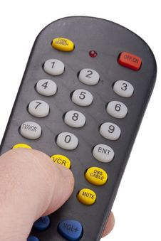 Free Remote For The TV Stock Photo - 17304810