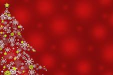 Free Snowflake Christmas Tree Royalty Free Stock Image - 17304866