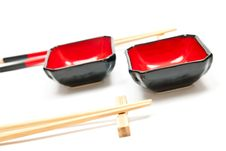 Free Chopsticks And Plates Stock Image - 17305541