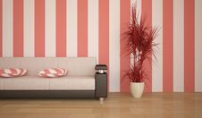 Free Red Interior Concept Royalty Free Stock Photography - 17306787