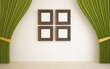 Free Blinds Before White Wall Royalty Free Stock Photo - 17306975