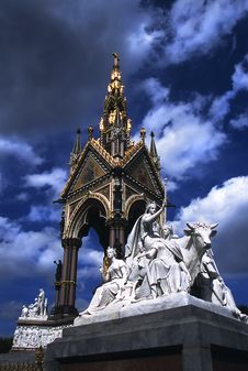 Free Albert Memorial Royalty Free Stock Photography - 17307027