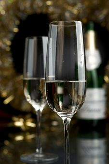 Free Wine. Champagne Stock Photos - 17307163
