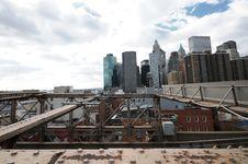 Free New York City Brooklyn Bridge Stock Photos - 17307463