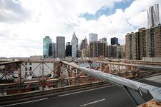 New York City Brooklyn Bridge Royalty Free Stock Image