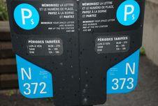 Free Parking Machine Royalty Free Stock Image - 17307686