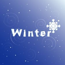 Free Winter Abstract Background Stock Photography - 17308012