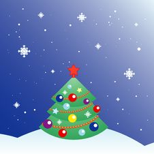 Free Christmas Tree Royalty Free Stock Images - 17308049