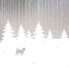Free Christmas Background Royalty Free Stock Images - 17308159