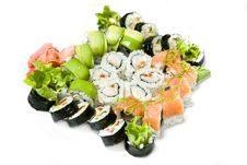 Free Traditional Sushi Royalty Free Stock Photo - 17308635