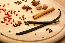 Free Mix Of The Spices Stock Image - 17309231