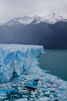 Free Moreno Glacier Royalty Free Stock Photography - 17309357