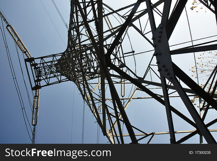 Electrical tower 3