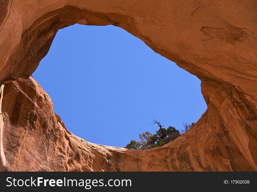 Bowtie Arch (near Corona Arch)