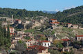 Free Village On A Hillside Royalty Free Stock Photography - 17312267