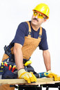 Free Mature Contractor Stock Photo - 17312900