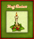 Free Christmas Greeting Card Royalty Free Stock Photography - 17315057