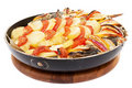 Free Haarder Stuffed Baked With Potatoes And Tomatoes Stock Photo - 17315860