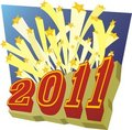 Free 2011 - New Year Stock Photo - 17316240