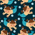 Free Mermaid Background Stock Images - 17319294