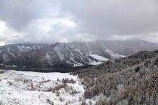 Landscape Of Winter Stock Photo