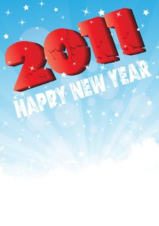 Free Happy New Year 2011 Stock Images - 17311364