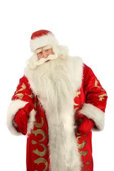 Happy Christmas Santa. Stock Photo