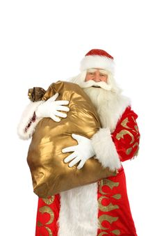 Happy Christmas Santa. Royalty Free Stock Photo