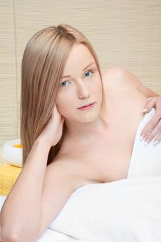 Free Woman In Spa Stock Images - 17311614