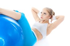 Free Woman In Fitness Royalty Free Stock Images - 17311999